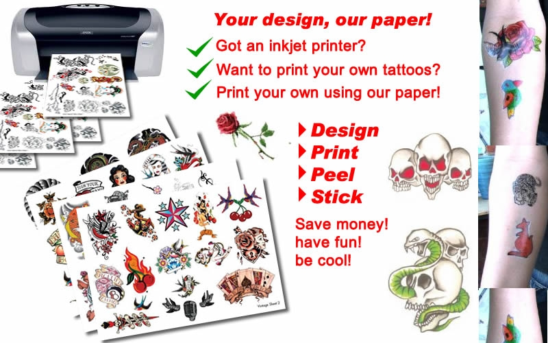image about Printable Temporary Tattoos called Short term Tattoos Expert: Non permanent Tattoos at present Visual appearance Legitimate