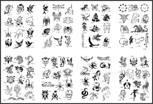 Australian Temporary Tattoos. Asian Band 240x35mm $1.40