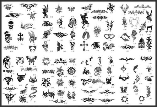 shoulder tattoo stencils